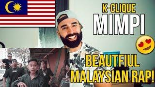 Cover images K-Clique – Mimpi (feat Alif) // MALAYSIAN RAP REACTION