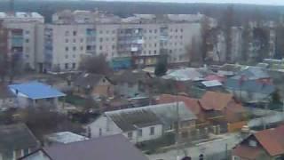 Нова Каховка - вид на місто з колокольні