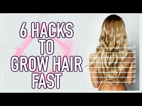6 Hacks to Grow Long Hair FAST! ✌ Hair Growing Hacks!