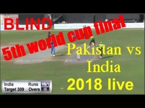 Pakistan VS India 5th blind cricket world cup final 2018 highlights Sharjah cricket stadium