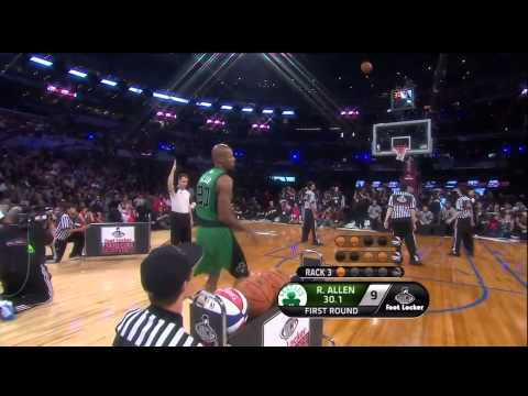 [Full HD] Ray Allen ASG Three Point Contest [2011]