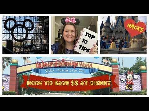 ♥ How to Save Money at Disney World - TOP 10 TIPS for a Budget Disney Vacation + Free Stuff!