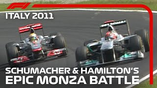 Schumacher & Hamilton's Epic Monza Battle | 2011 Italian Grand Prix
