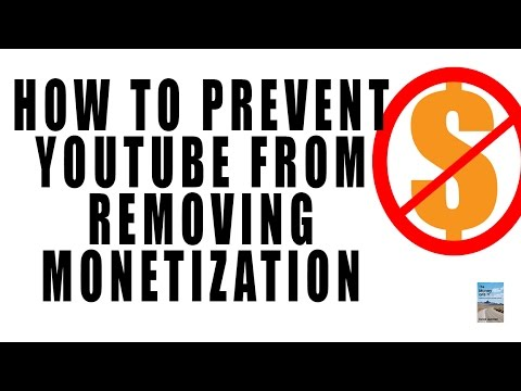 How to Prevent YouTube from Removing Monetization on Your Videos!