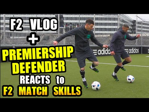 PREMIERSHIP DEFENDER REACTS to F2 Match Skills!!! + F2 Vlog
