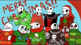 ALL Undertale AU Xmas Party Comics!