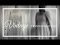 Vintage Dress Transformation: 1970s Wedding Gown