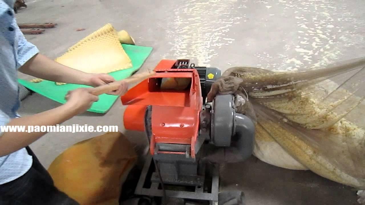 Maquina trituradora de hule espuma viscoelastica espuma - Trituradora de ramas casera ...