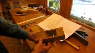 Making A Wooden Coffin Smoother Bench Plane - Step 3