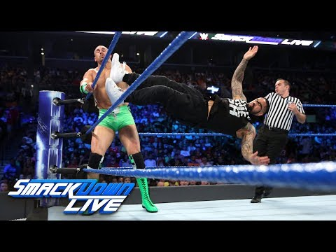 Thumbnail: The Hype Bros vs. The Usos: SmackDown LIVE, Aug. 22, 2017