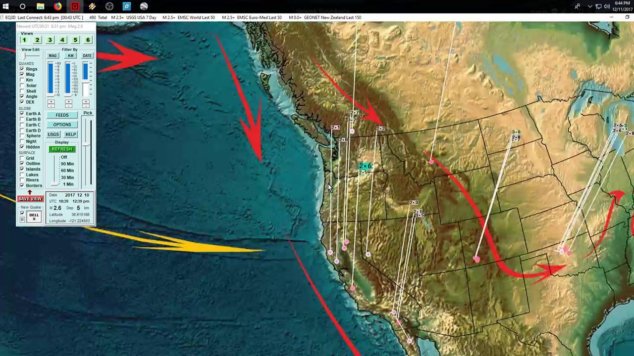 12-11-2017-west-coast-california-multiple-volcanoes-erupting-offshore-full-video