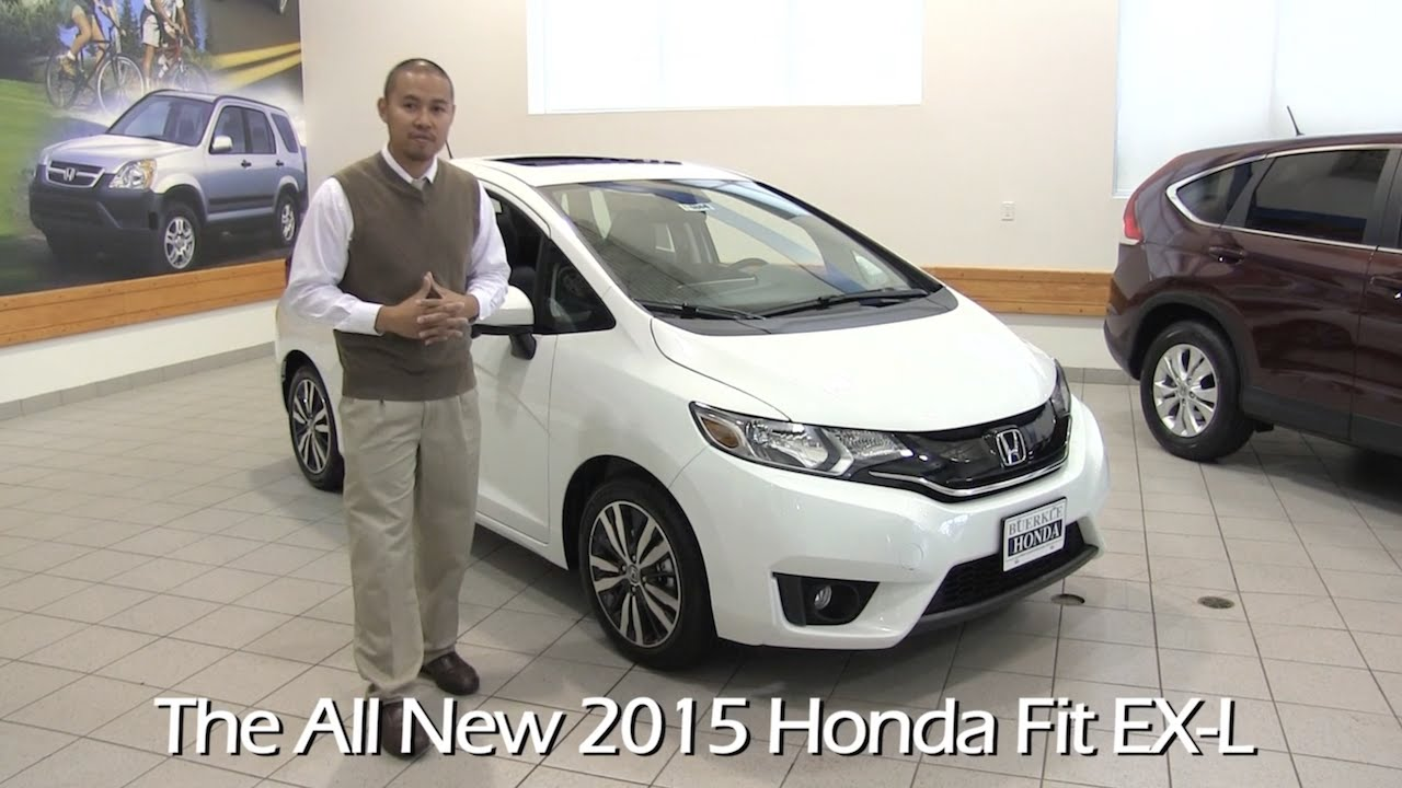 the all new 2015 honda fit ex l minneapolis st paul white. Black Bedroom Furniture Sets. Home Design Ideas