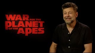 WAR FOR THE PLANET OF THE APES interviews - Andy Serkis, Harrelson, Reeves, Zahn, Miller