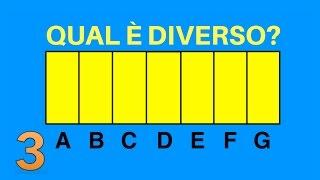 Quale Colore è Diverso? Test della Vista Online con i Colori dell'Arcobaleno