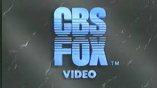CBS/Fox Video/Key Video (1987)