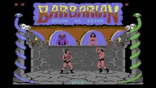C64 Longplay - Barbarian