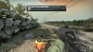 Counter Strike Global Offensive Gameplay PC New Update 14/8/2013 got a New Weapons M4A1 and USP