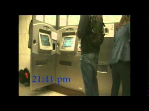 (4 ways of) ticket crossing in Athens metro
