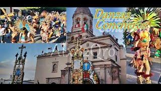 Danzas Concheros Fiesta Templo de La Cruz 2018 - Querétaro, México