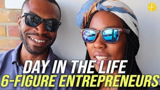 DAY IN THE LIFE of a 6-FIGURE Online Entrepreneur (REALITY!)