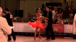 2012 Desert Classic Junior II Pre Champ Final - Kids Ballroom Dance Videos