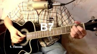 Как играть на гитаре Луч солнца золотого - М.М. Магомаев: бой, аккорды, табы, урок