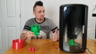 MOIRA DF3 Intelligent 3D Printer Unboxing and Review. Best Beginner 3D printer 2019