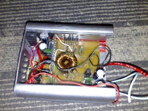 видео: Автомобильный усилитель своими руками (handmade car amplifier)