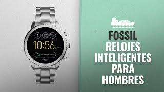 Fossil 2018 Mejores Ventas: Fossil Q Men's Gen 3 Explorist Stainless Steel Smartwatch, Color: