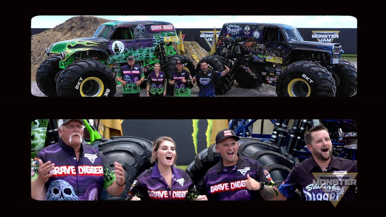 Monster Jam Is Back - Message from the Anderson's