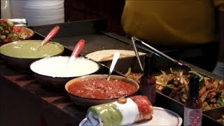 London Street Food. Mexican Restaurant in Camden Market, Camden Town.