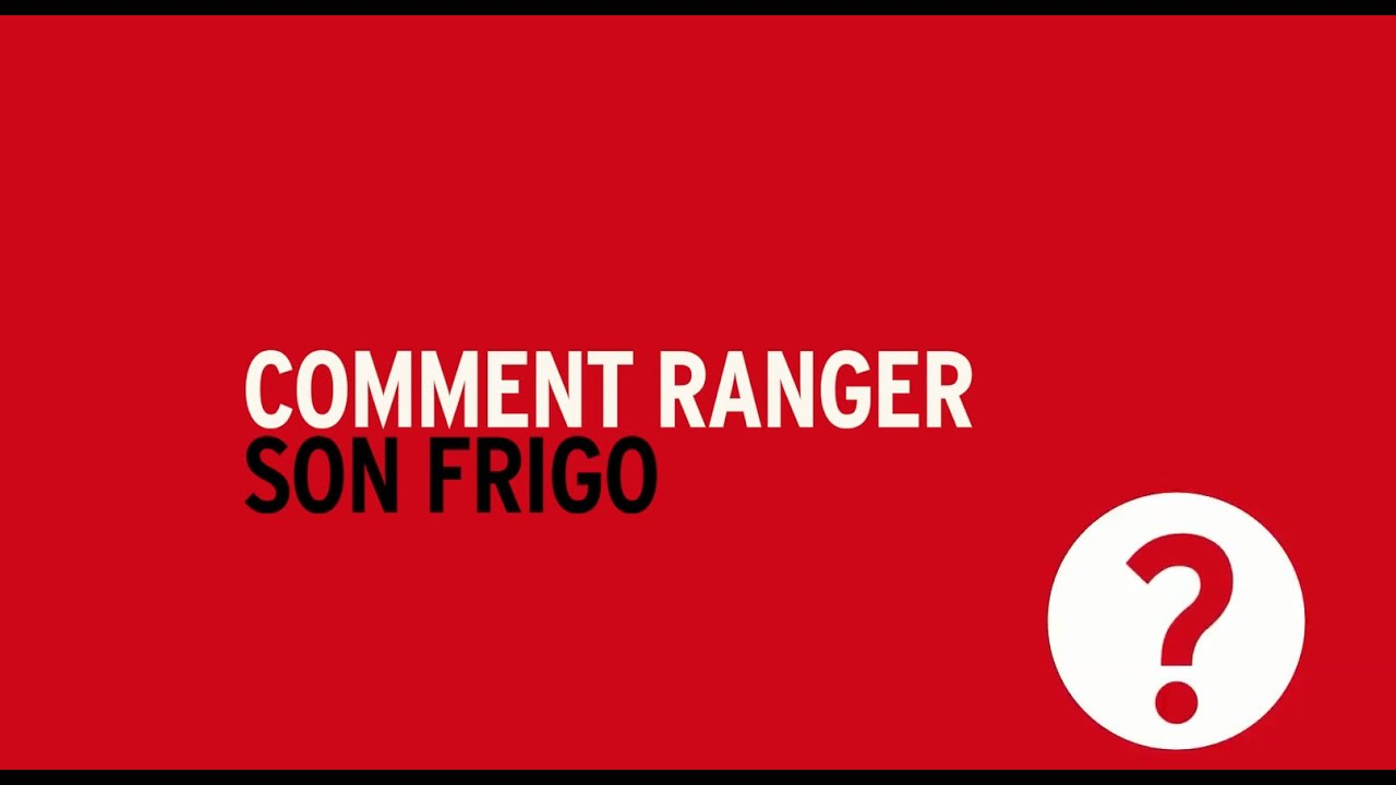 Tutos darty vous comment bien ranger son frigo youtube - Comment ranger son linge ...