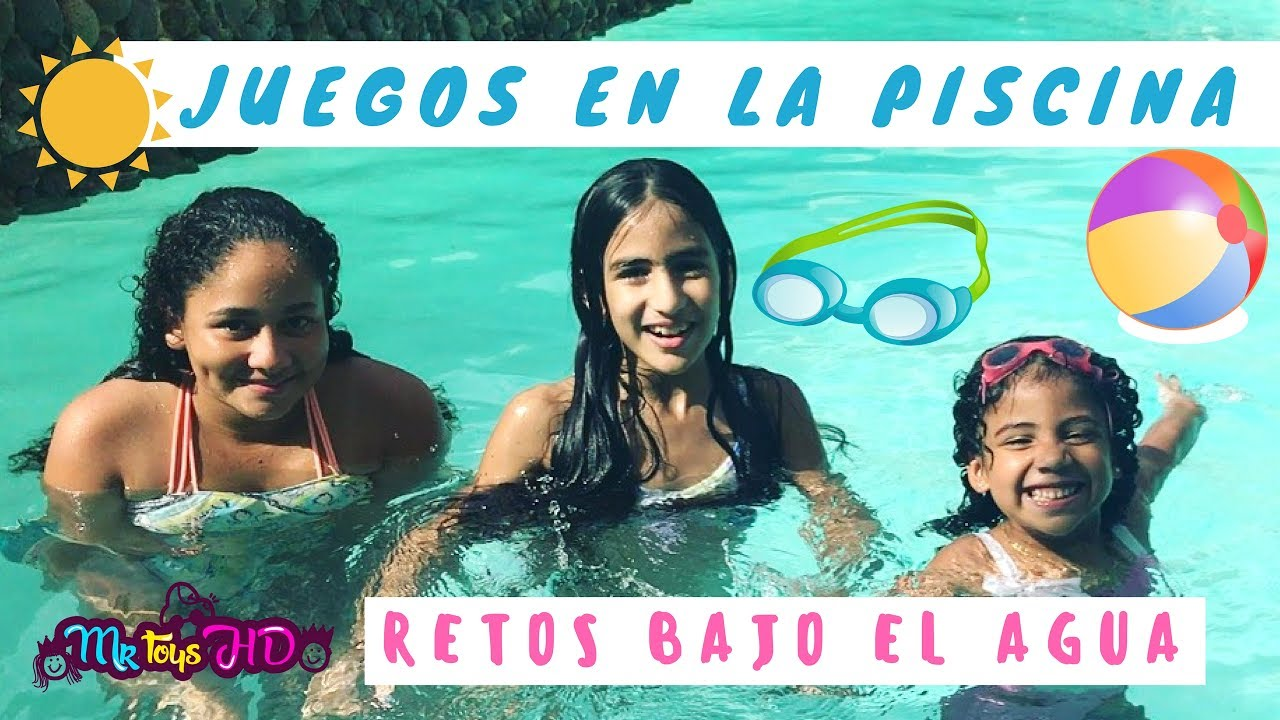 Juegos en la piscina divertidos retos en la piscina for Porno el la piscina