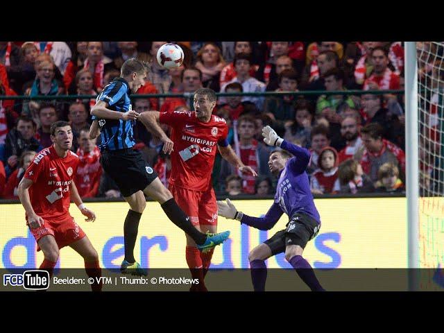 2013-2014 - Jupiler Pro League - 11. KV Kortrijk - Club Brugge 4-1