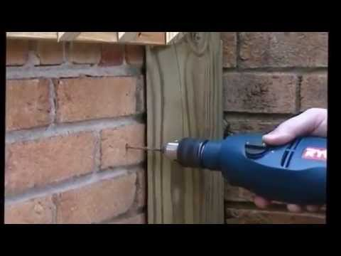"How to: Use ""Tapcon"" brand fasteners for Masonry, Brick, and Concrete"