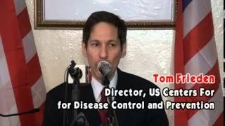 US CENTERS FOR DISEASE CONTROL PAINTS LIBERIA EBOLA PICTURE