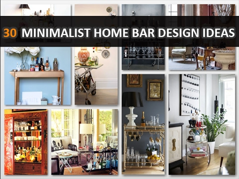30 Minimalist Home Bar Design Ideas For Modern Home - DecoNatic