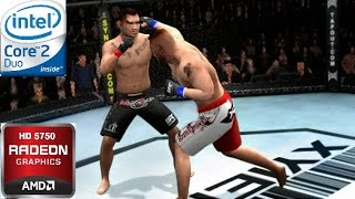 UFC - Sudden Impact Gameplay Intel Core 2 Duo E8400 3.0 GHz | 4GB RAM | Radeon HD 5750 512 MB