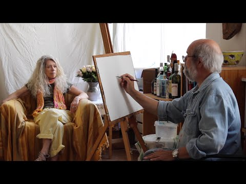 Watercolor Techniques EPISODE 04 - Painting A Portrait - YouTube