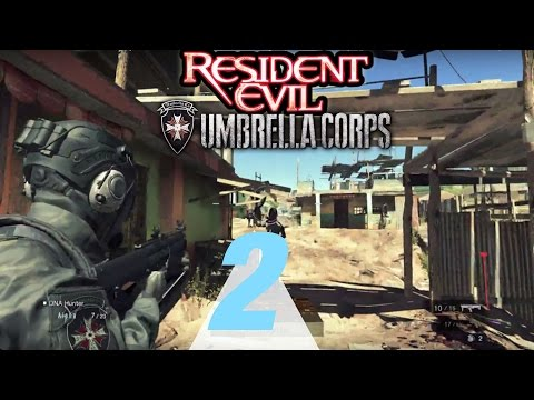 Resident Evil: Umbrella Corps Walkthrough Part 2 - The Experiment RE5 Map