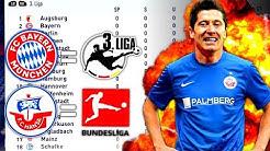 WAS WÄRE WENN DIE LIGEN VERTAUSCHT WÄREN ?!! 🤔 1. Bundesliga 🔛 3. Liga - FIFA 18 Experiment