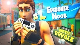 Der SCHLECHTESTE PS4 Spieler! 😂 | Fortnite Battle Royale