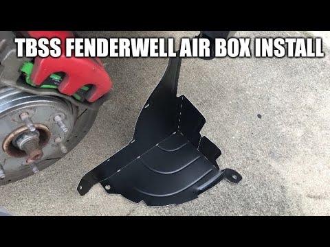 Fender Well Air Box Install
