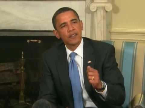 Obama meets Palestinian president