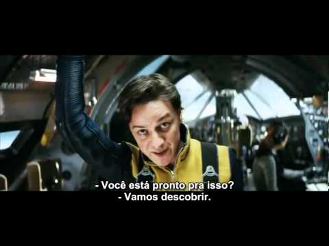 X Men First Class (Trailer 2 Legendado) Vídeos De Viagens