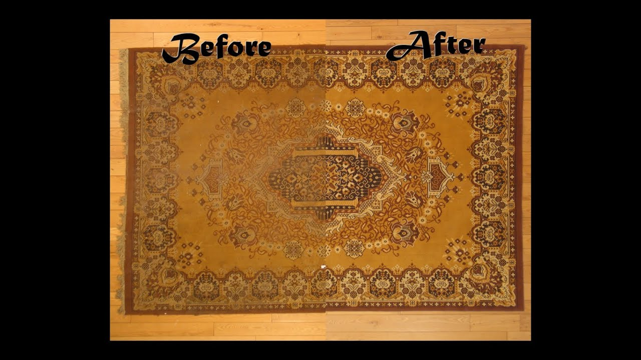 Serafian S Oriental Rugs Area Rug Cleaning In Albuquerque Nm Before And After