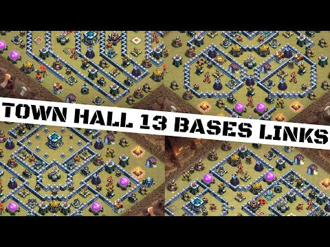 TH 13 25 BASE WITH LINK ! Th 13 New Base With Link - Town Hall 13 Base With Link / Clash Of Clans