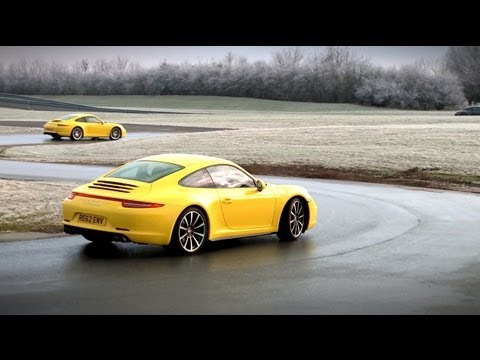 New Porsche 911 Carrera 4: Part 4 - the red line experience