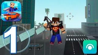 Block City Wars - Gameplay Walkthrough Part 1 - Team Fight (iOS, Android)