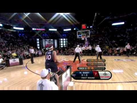 2009 Foot Locker 3-Point Shootout: Mike Bibby (1st round)